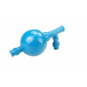 Pipetador de Borracha 3 Vias com Esfera em Aço Inox