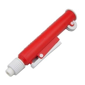 Pipetador Pi-Pump Faixa de Medição para Pipetas de Até 25ml, Cor Vermelho