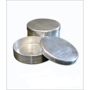 Placa de Petri em Alumínio com Tampa 80x20mm