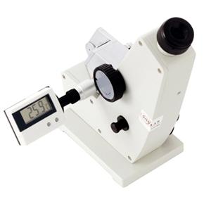 Refratômetro Abbe - Refração 1,300-1,700 ND e 0 a 95% Brix - com Maleta em Alumínio