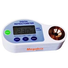 Refratômetro Manual Portátil - Escala 0 a 45% Brix