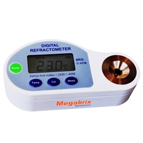 Refratômetro Digital Portátil - Escala 28 a 65% Brix