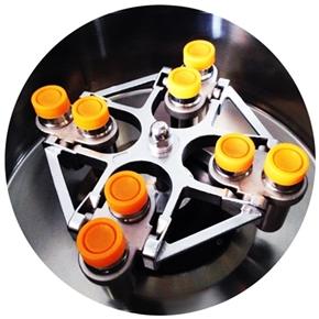 Rotor do Modelo DT-5000 e DTR-5000 - Capacidade 8x50ml - Basculante