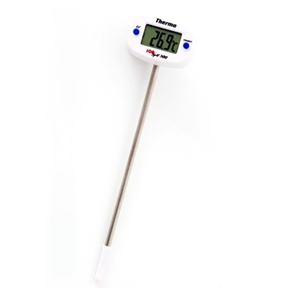 Termômetro Digital Portátil Tipo Espeto - de -50°C a +300°C - Cabeça Giratória 180 graus