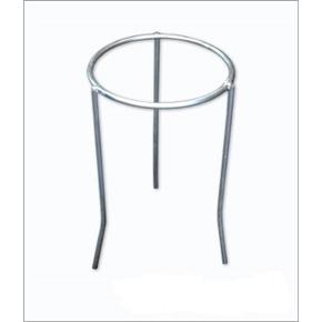 Tripé de Ferro Zincado com Aro Trefilado 10x18cm