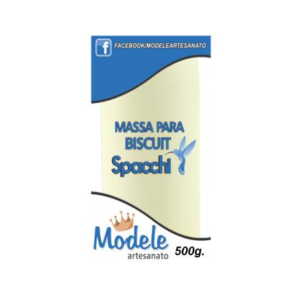 Massa para Biscuit 500g 001 Natural