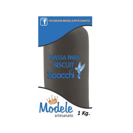 Massa para Biscuit 1 Kg 005 Marrom Escuro