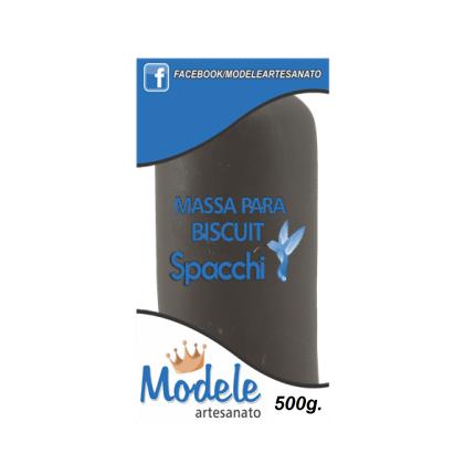 Massa para Biscuit 500g 005 Marrom Escuro