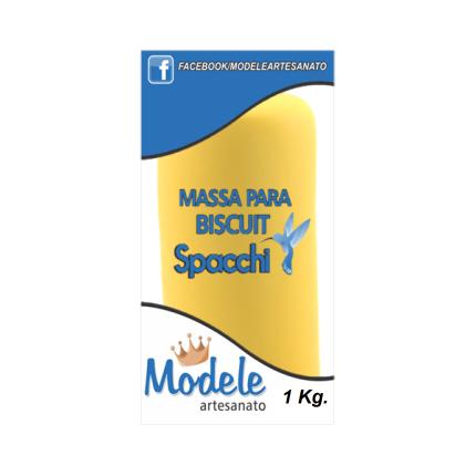 Massa para Biscuit 1 Kg 021 Amarelo