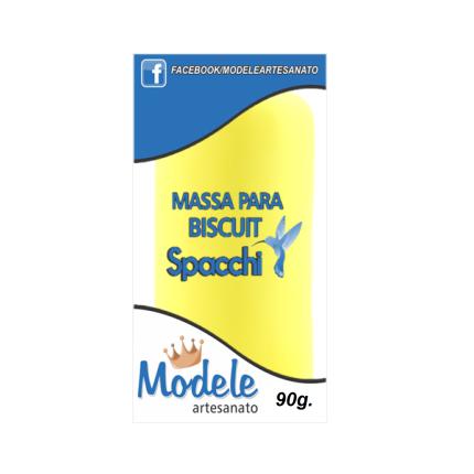 Massa para Biscuit 90g 023 Amarelo Limão
