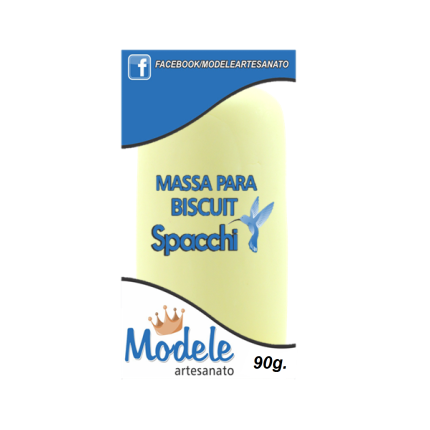 Massa para Biscuit 90g 025 Amarelo Claro