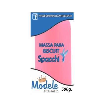 Massa para Biscuit 500g 034 Pink