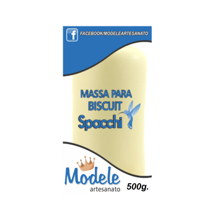 Massa para Biscuit 500g 069 Creme