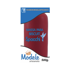 Massa para Biscuit 500g 006 Maçã