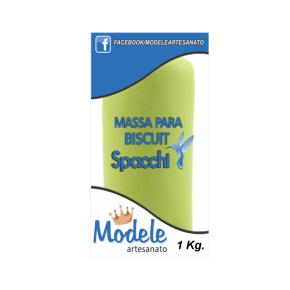 Massa para Biscuit 1 Kg 013 Verde Pistache