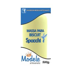 Massa para Biscuit 500g 024Amarelo Canário