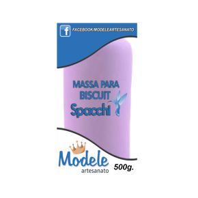 Massa para Biscuit 500g 031 Violeta Perolado