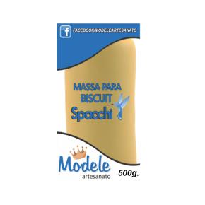 Massa para Biscuit 500g 033 Ocre