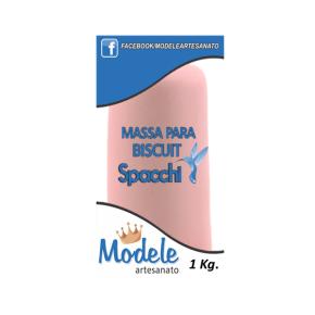 Massa para Biscuit 1 Kg 044 Rosa Chá