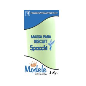 Massa para Biscuit 1 Kg 046 Verde Perolado Claro