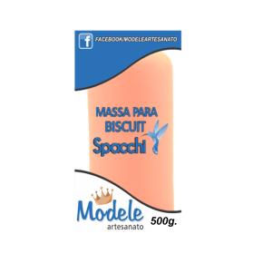 Massa para Biscuit 500g 047 Laranja