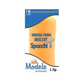 Massa para Biscuit 1 Kg 057 Amarelo Fluor