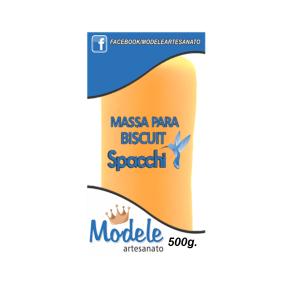 Massa para Biscuit 500g 057 Amarelo Fluor
