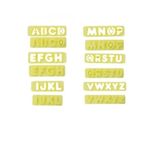 Conj. de Réguas Cortador de Letras 2cm com Expulsador
