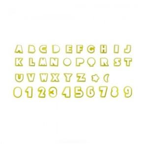 Cortador Letras e Números 2cm