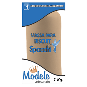 Massa para Biscuit 1 Kg 063 Caramelo