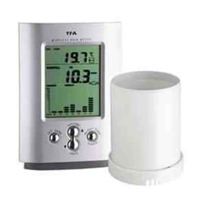 Pluviômetro Digital com Temperatura e Alarme
