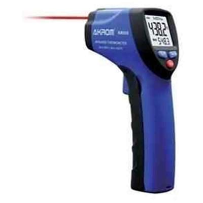 Termômetro Infravermelho mira laser e max/min faixa de -50° a +550°C