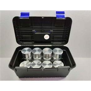Kit Cápsulas de Alumínio de 70x45mm c/ tampa 159ml.