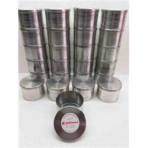Kit Cápsulas de Alumínio p/amostras de solo