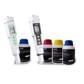 Kit-Hidroponia, Condutivímetro + pH-Metro + Soluções