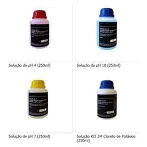Kit-Soluções Padrão de Calibração p/ pH-Metro