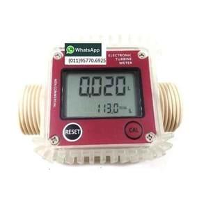 Medidor de Fluxo digital p/água e combustíveis