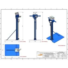 Penetrógrafo Digital Georreferenciado Motorizado