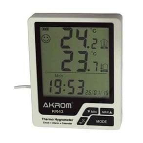 Termohigrômetro digital modelo KR43