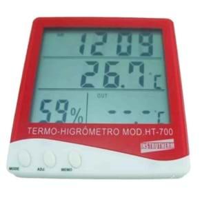Termohigrômetro digital para estufa hidropônica