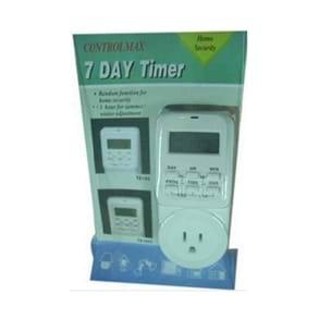 Timer digital para 7dias